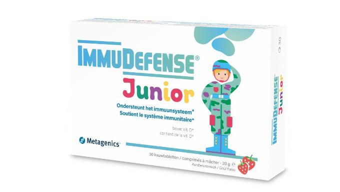 ImmuDefense Junior - ondersteunt het immuunsysteem van kinderen