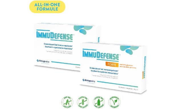 ImmuDefense & ImmuDefense Forte - Metagenics